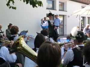 Dirigentennachwuchs beim Pfarrfest